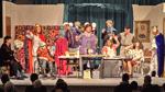 Szene aus der Aufführung in der Wagrien-Schule in Oldenburg/Holstein