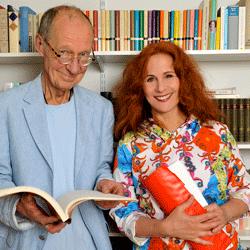 Portraitfoto von Hans-Peter Korff und Christiane Leuchtmann